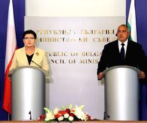 BULGARIA-SOFIA-POLAND-PM-VISIT