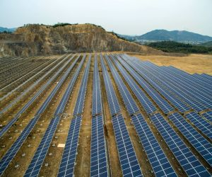File Photo: Solar panels