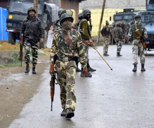 Militant, three protesters killed in Kashmir gunfight