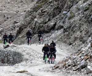700 km pedalling expedition