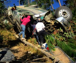 GUATEMALA SOLOLA ACCIDENT BUS
