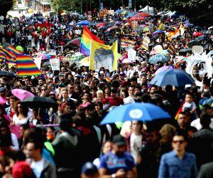 GAY PRIDE PARADE IN BOGOTA