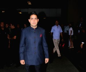 Zaheer Khan and Sagarika Ghatge's post wedding party - Akash Ambani
