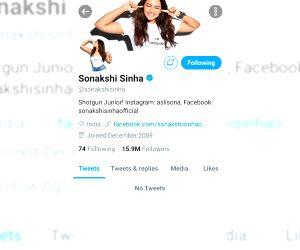 Sonakshi Sinha, Saqib Saleem quit Twitter citing negativity