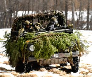 ESTONIA SONDA MILITARY EXERCISE