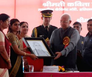 Haryana Governor during 6th Youth Festival at Bhagat Phool Singh Mahila Vishwavidyalaya