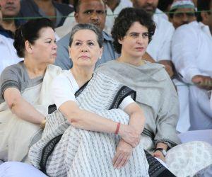 Sonia Gandhi and Priyanka Gandhi. (Photo: IANS)