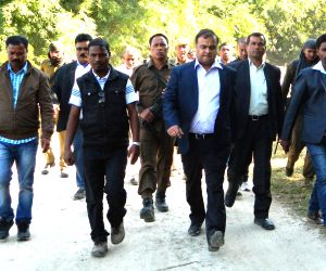 Himanta Biswa Sarma visits Hatijuli area where six people were gunned down