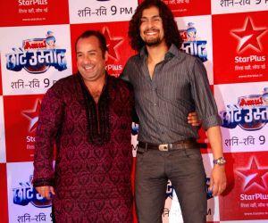 Sonu and Omi Vaidya at Star Plus Chote Ustad launch at Sea Princess.