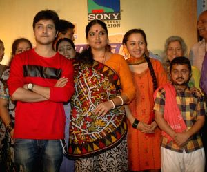Sony launches Krihsna Ben Khakrawala serial at Dahisar.