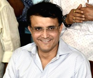 Ganguly and his backpack full of expectationS
