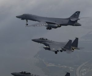 South Korea: B1-B U.S. bombers in S. Korea