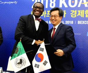 Korea, Africa agree on financial cooperation package