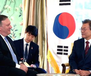 President Moon Jae-in meets top U.S. security officials