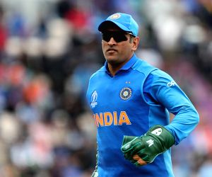 Southampton:  India's opening game in the ongoing World Cup saw former skipper M.S. Dhoni once again profess his love for the security forces after he was spotted with regimental dagger insignia of the Indian Para Special Forces on his wicket-keeping