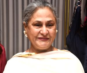 Jaya Bachchan at a store launch