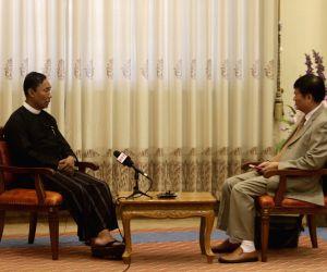 MYANMAR-NAY PYI TAW-U SHWE MANN-INTERVIEW