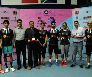 Asian Squash Championship Chennai - announcement