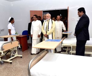 Sri Lanka: PM Modi inaugurates Dickoya Hospital