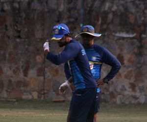 India Vs Sri Lanka - practice session - Sri Lanka