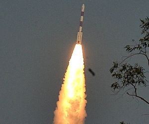 India's fourth navigation satellite PSLV-C27 launched
