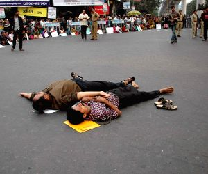 SSC aspirants' demonstration