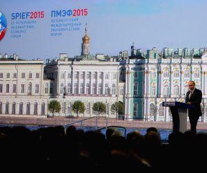 RUSSIA ST. PETERSBURG ECONOMIC FORUM PUTIN