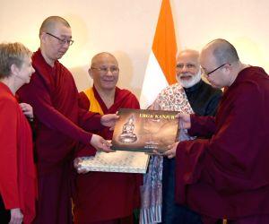 St. Petersburg: Modi visits Datsan Gunzechoinei Buddhist Temple