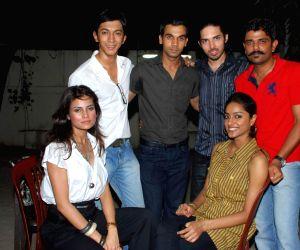 Star cast of Love Sex Dhoka at a special media screening, Ketnav.
