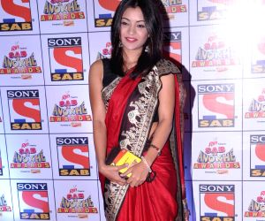 Star cast of television serial Taarak Mehta Ka Ooltah Chashmah during SAB Ke Anokhe Awards 2013 in Mumbai on 19th August 2013 (Photo:::IANS