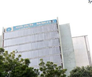 State Bank of India building, New Delhi. (File Photo: IANS)