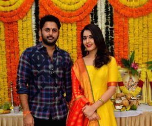 "Srinivasa Kalyanam"" movie opening - Stills"