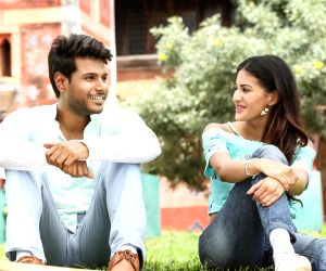 Stills of Telugu film Manasuku Nachindi.