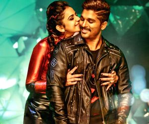 Stills of Telugu Film Sarrainodu