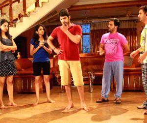 Stills of Telugu film Vajralu Kavala Nayana