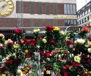 SWEDEN STOCKHOLM TRUCK ATTACK TRIBUTE
