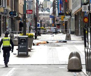 SWEDEN STOCKHOLM TRUCK ATTACK SITE