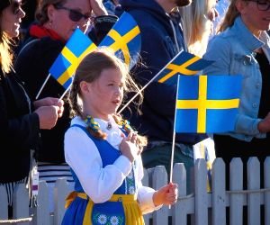 SWEDEN STOCKHOLM NATIONAL DAY CELEBRATIONS
