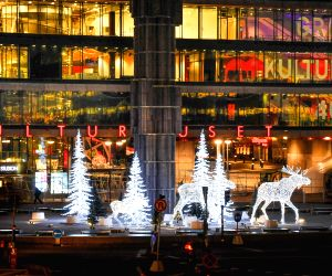 Stockholm (Sweden): Christmas Decoration