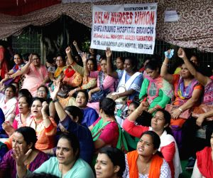 Safdarjung Hospital nurses' strike