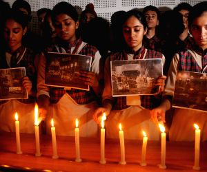 Candle light vigil for victims of Truck tragedy in France
