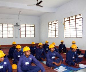 Jharkhand tribal school dropouts train for foreign jobs