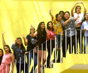 CBSE class 12 results out, students celebrate