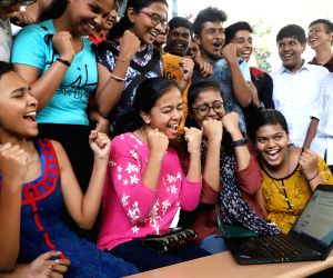 CBSE declares Class 10 results, students celebrate