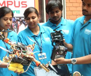 Engineering students showcase their creations