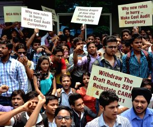 ICAI students' demonstration