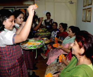 Students celebrate Guru Purnima