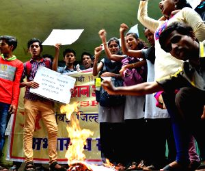 Students protest
