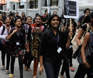 Protest rally over the heinous crimes against Women and Children