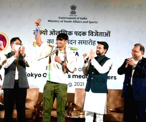 Success at Olympics reflects New India's desire to dominate: Anurag Thakur